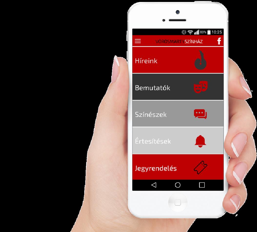 Vörösmarty Színház - mobil alkalmazás