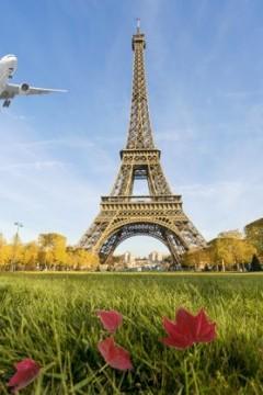 Boeing, Boeing - Leszállás Párizsban